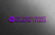 """The Synergy Project"" and place the word ""season three"" underneath in smaller front either as "" season 3"" or ""season three"" Logo - Entry #12"
