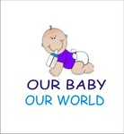 Logo for our Baby product store - Our Baby Our World - Entry #117