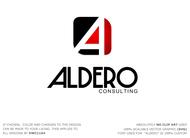 Aldero Consulting Logo - Entry #153