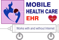 Mobile Healthcare EHR Logo - Entry #106