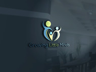 Growing Little Minds Early Learning Center or Growing Little Minds Logo - Entry #103