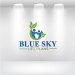 Blue Sky Life Plans Logo - Entry #16