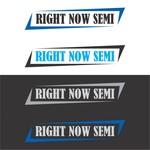 Right Now Semi Logo - Entry #40
