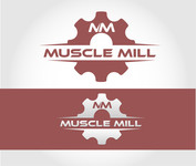 Muscle MIll Logo - Entry #3