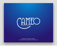 CAMEO PRODUCTIONS Logo - Entry #45