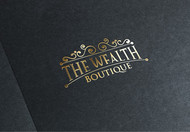 the wealth boutique Logo - Entry #26