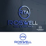 Roswell Tire & Appliance Logo - Entry #57