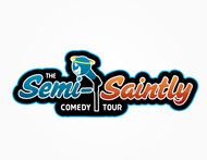 The Semi-Saintly Comedy Tour Logo - Entry #42