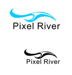 Pixel River Logo - Online Marketing Agency - Entry #21