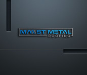 Mast Metal Roofing Logo - Entry #96