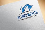 ALLRED WEALTH MANAGEMENT Logo - Entry #656