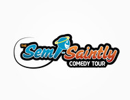 The Semi-Saintly Comedy Tour Logo - Entry #41