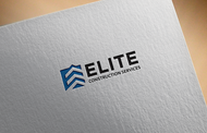 Elite Construction Services or ECS Logo - Entry #109