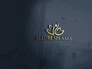 Allure Spa Nails Logo - Entry #34