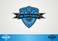 The Semi-Saintly Comedy Tour Logo - Entry #31