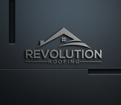 Revolution Roofing Logo - Entry #189