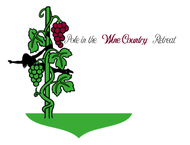 Pole in the Wine Country Retreat  Logo - Entry #7