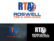 Roswell Tire & Appliance Logo - Entry #75