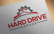 Hard drive garage Logo - Entry #110