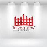 Revolution Fence Co. Logo - Entry #282