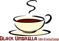 Black umbrella coffee & cocktail lounge Logo - Entry #82