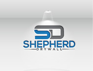 Shepherd Drywall Logo - Entry #124