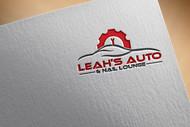 Leah's auto & nail lounge Logo - Entry #181