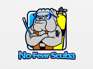 No Fear Scuba Logo - Entry #14