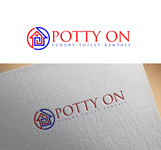 Potty On Luxury Toilet Rentals Logo - Entry #26