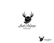 ArtMoose Gallery Logo - Entry #59