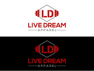 LiveDream Apparel Logo - Entry #97