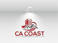 CA Coast Construction Logo - Entry #7