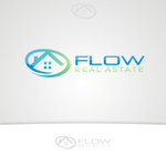Flow Real Estate Logo - Entry #42