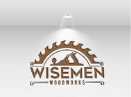 Wisemen Woodworks Logo - Entry #46