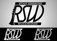Woodwind repair business logo: R S Woodwinds, llc - Entry #128
