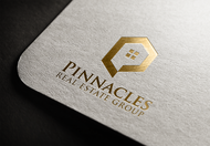 Pinnacles Real Estate Group  Logo - Entry #3
