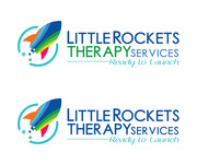 Little Rockets Therapy Services Logo - Entry #94