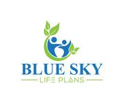 Blue Sky Life Plans Logo - Entry #15