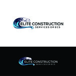 Elite Construction Services or ECS Logo - Entry #159