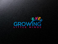 Growing Little Minds Early Learning Center or Growing Little Minds Logo - Entry #163