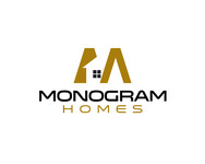 Monogram Homes Logo - Entry #122