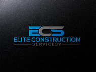 Elite Construction Services or ECS Logo - Entry #26