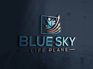 Blue Sky Life Plans Logo - Entry #123