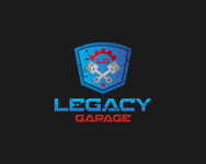 LEGACY GARAGE Logo - Entry #36