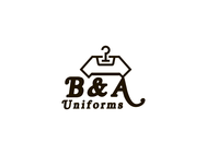B&A Uniforms Logo - Entry #78