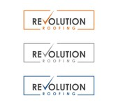Revolution Roofing Logo - Entry #12
