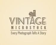 Vintage Microstock Logo - Entry #20
