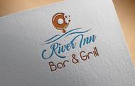 River Inn Bar & Grill Logo - Entry #38