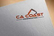 CA Coast Construction Logo - Entry #134