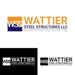 Wattier Steel Structures LLC. Logo - Entry #22